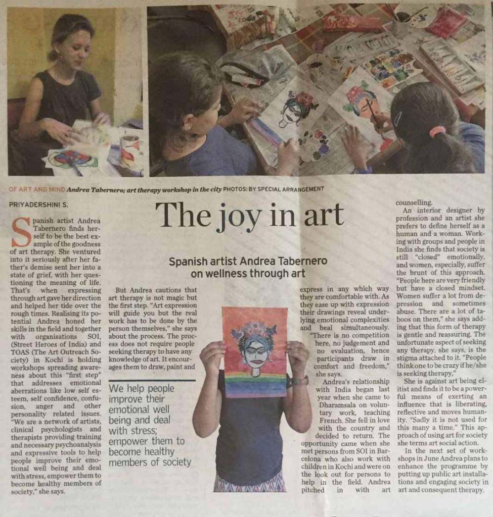 The Joy in Art - The Hindu