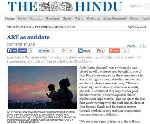 ART as antidote - The Hindu